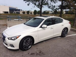 2015 Infiniti Q50 AWD LIMITED Lease Take-Over only $625 all in