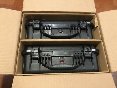 Pair (2) in Box Pelican 1520 Case  (Black)  larger then 1500