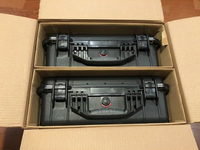 Pair  in Box Pelican 1520 Case    larger then 1500