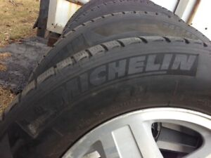 Michelin - 4 mags GM 17'' et pneus Latitude X-ICE 245-65 R17