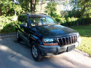 Jeep Grand Cherokee, New Tires, etested
