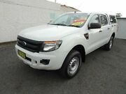 2014 Ford Ranger PX XL 2.2 (4x4) White 6 Speed Automatic Crew Cab Utility Nowra Nowra-Bomaderry Preview