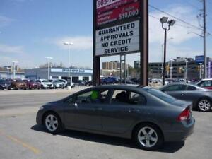 2009 Honda Civic Sdn Sport Safety Included, Sunroof.