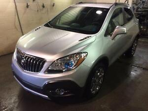 2016 Buick Encore AWD, 1.4L 4 CYL TURBO, LEATHER INT