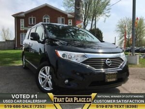 2012 Nissan Quest SL|$88Wk|HtdLthrSts|Backup|Dual Pwr Sliding Do