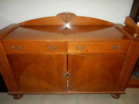 Antique Art Deco Sideboard - REDUCED!