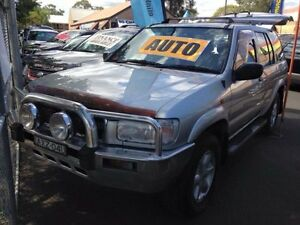 2004 Nissan Pathfinder MY03 ST (4x4) Silver 4 Speed Automatic Wagon Campbelltown Campbelltown Area Preview