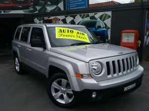 2013 Jeep Patriot MK MY14 Sport (4x2) Silver 6 Speed Automatic Wagon Greenacre Bankstown Area Preview