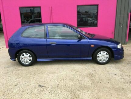 1997 Mitsubishi Mirage CE Blue 5 Speed Manual Hatchback