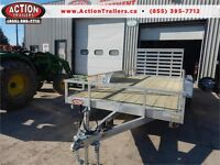 16' ALL ALUMINUM UTILITY TRAILER - LOW PRICING, BUILT TO LAST! London Ontario Preview