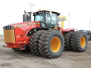 2017 Versatile 500 550 PEAK HP,Powershift, PTO, 110gpm Hyd. Pump