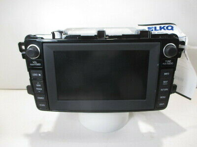 2011 Mazda CX9 Navigation CD Player Radio OEM TG1866DV0