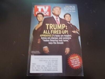 Donald Trump - TV Guide Magazine 2004