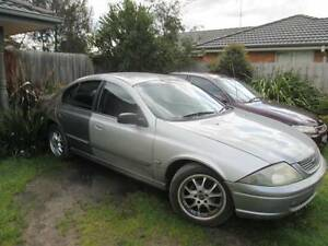 2002 FORD FALCON SEDAN SERIES 3 FOR PARTS OR WRECKING Pakenham Cardinia Area Preview