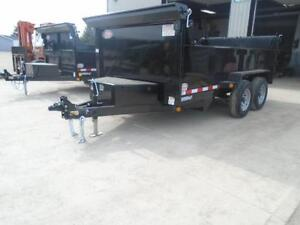 EASIEST COMBO GATE TO OPERATE 6X12 DUMP TRAILER 5 TON London Ontario image 2
