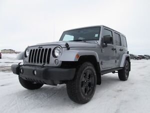 2015 JEEP WRANGLER High Altitude edition!!!! What a beautiful l