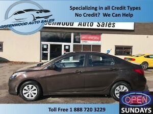 2015 Hyundai Accent GLS! PRICED TO MOVE! FINANCE NOW!