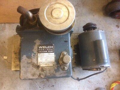 Welch 1402 Duo Seal Vacuum Pump 12hp