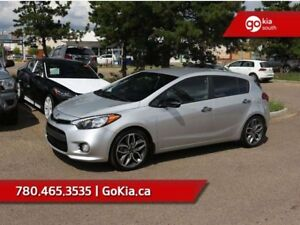 2016 Kia Forte 5-Door SX; LOW KM, HEATED SEATS, PUSH BUTTON STAR