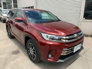 2019 Toyota Kluger GSU55R Grande AWD Red 8 Speed Sports Automatic Wagon Colac Colac-Otway Area Preview