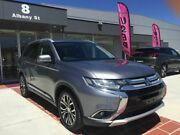 2017 Mitsubishi Outlander ZK MY17 LS 4WD Grey 6 Speed Constant Variable Wagon Fyshwick South Canberra Preview