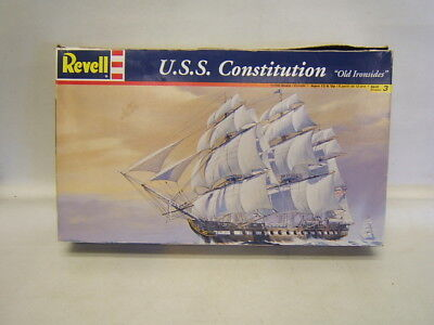"""Revell U.S.S. Constitution """"Old Ironsides"""" Kit 1:196 Scale MIB c 1999"""