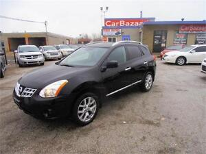 2011 NISSAN ROGUE SL AWD NAVI LTHR ROOF 4 CYL EASY  FINANCE