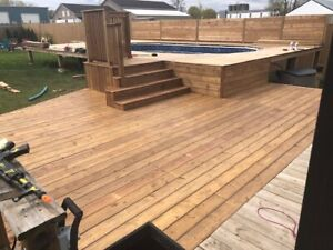 Need a Deck & Fence Builder - Enjoy Your Summer .....