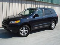 2007 Hyundai Santa Fe L 3.3 loaded leather 4wd extra clean SAVE!