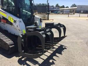 BOBCAT ROOT GRAPPLE ATTACHMENT FOR SALE OR FOR HIRE Beckenham Gosnells Area Preview