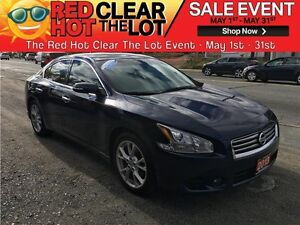 2013 Nissan Maxima 3.5 S REDUCED! CERTIFIED! LEATHER! BLUETOOTH!