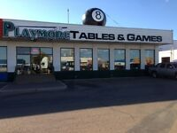 Pool Tables, Ping Pong,Shuffle etc  Tent & Store Wide Clearance!