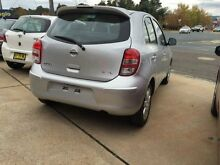 2013 Nissan Micra K13 ST-L Monaco Platinum Manual Hatchback Fyshwick South Canberra Preview