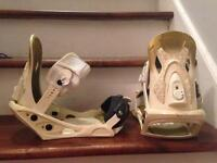 Option snowboard bindings