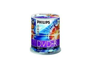 Philips 4.7GB 16x DVDs  100 Pack