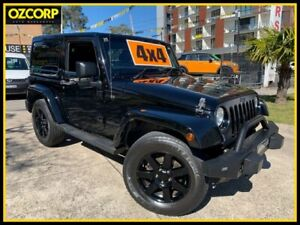 2014 Jeep Wrangler JK MY14 Blackhawk Black 5 Speed Automatic Softtop Homebush Strathfield Area Preview