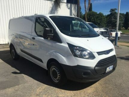 2014 Ford Transit Custom VN 330L Low Roof LWB White 6 Speed Manual Van