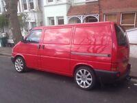 Lovely converted Red VW Transporter T4