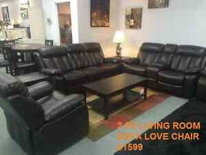 BLOW OUT SALE ON SOFAS, RECLINERS, SECTIONALS & BEDROOMS Kitchener / Waterloo Kitchener Area image 10
