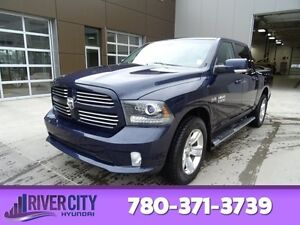 2013 Ram 1500 4WD CREWCAB SPORT Leather,  Bluetooth,  A/C,