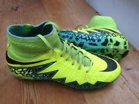 Nike Hypervenom sock boots - size 3.5