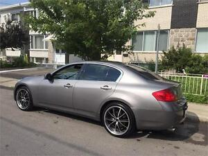 "2007 infiniti G35- AUTOMATIC-  MAGS 20 ""  *** IMPECABLE- 5995$"