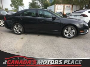 2010 Ford Fusion SPORT SPORT AWD TOP LINE SPORT AWD MEDIA Centre