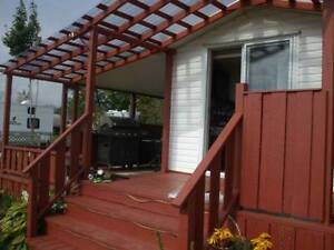 Chalet a louer sur camping aménager - Chalet on campground