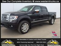 2013 Ford F150 Platinum ~ Loaded Nav Sunroof ~ Only $323 B/W