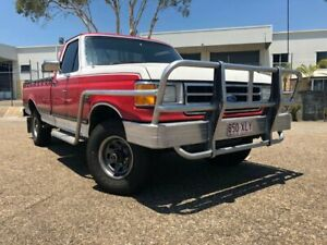 1989 Ford F150 XLT (4x4) Red 3 Speed Automatic 4x4 Utility Woodridge Logan Area Preview