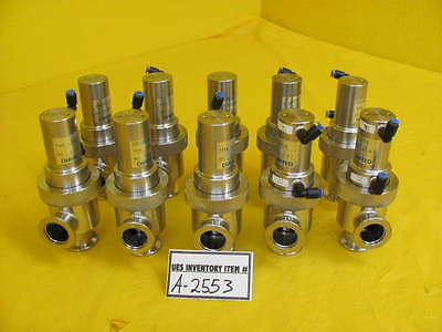 Diavac Limited Lcav-25h Pneumatic Angle Valve Reseller Lot Of 10 Used Working