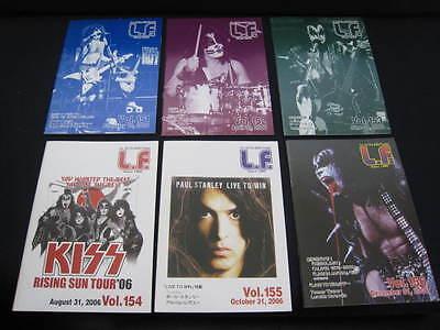 KISS L.F. Vol. 151 - 156 Japan Fanzine Book in 2006 Lot LF