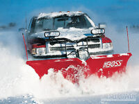 RELIABLE COMMERCIAL/RESEDNTIAL SNOW PLOW SERVICES AVAILABLE