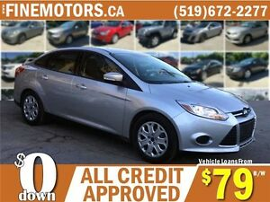 2014 FORD FOCUS SE * HEATED SEATS * BLUE TOOTH TECH * LOW KM